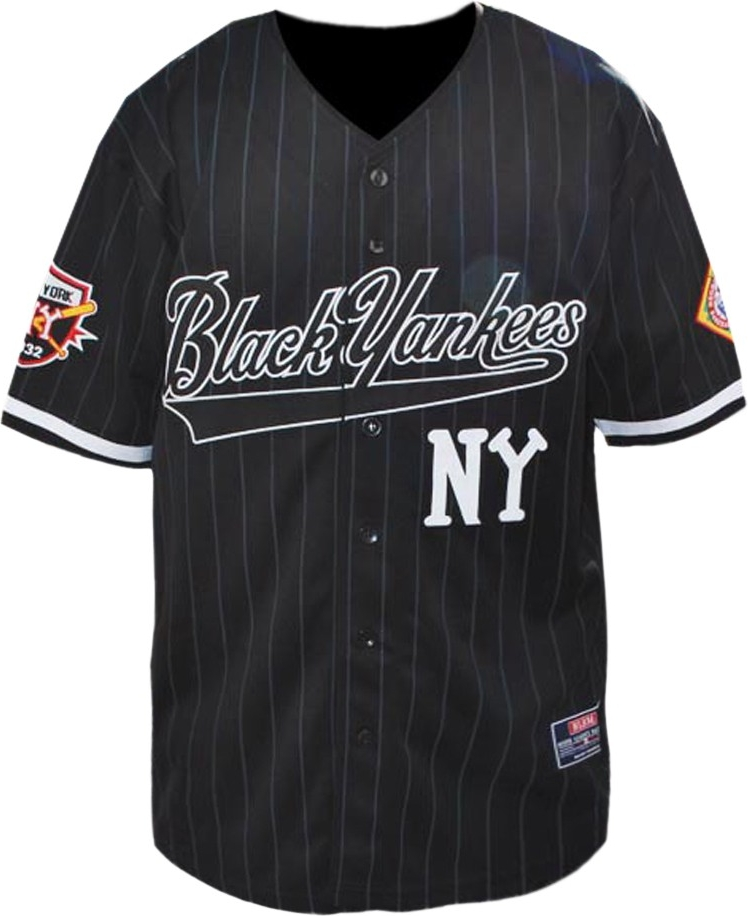 separation shoes f569e 23a4c Big Boy New York NY Black Yankees Legends S3 Mens Baseball Jersey