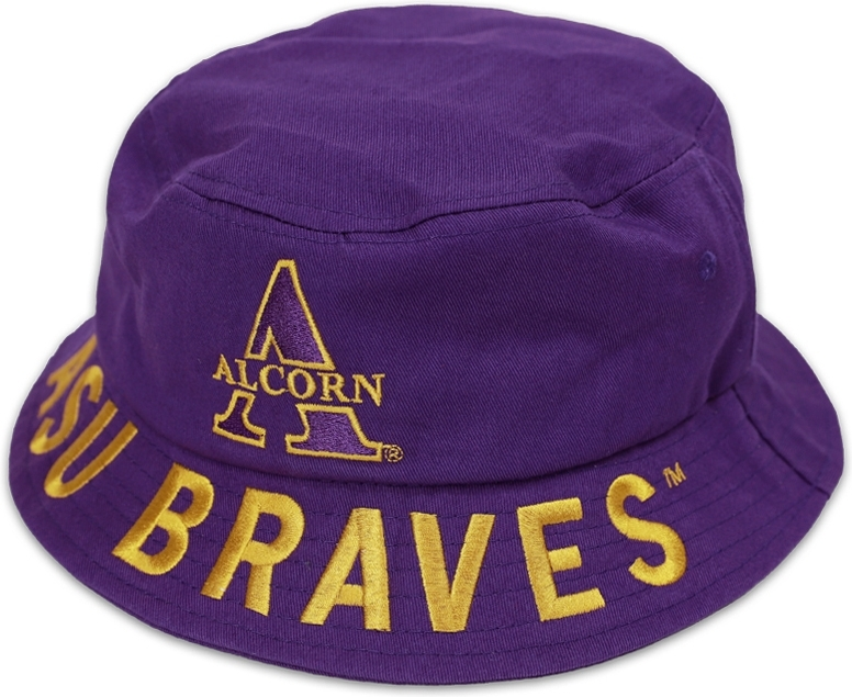36468ce1c9800d Big Boy Alcorn State Braves S4 Mens Bucket Hat | The Cultural ...