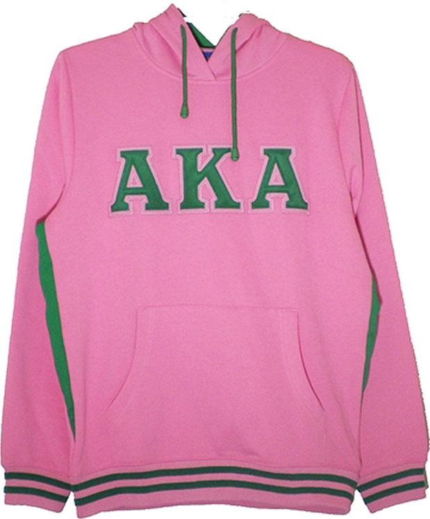 adb868338 Buffalo Dallas Alpha Kappa Alpha Applique Pullover Ladies Hoodie
