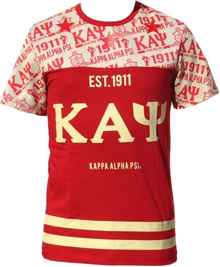 20d7200fa05 Big Boy Kappa Alpha Psi Divine 9 Mens Sublimation Jersey Tee
