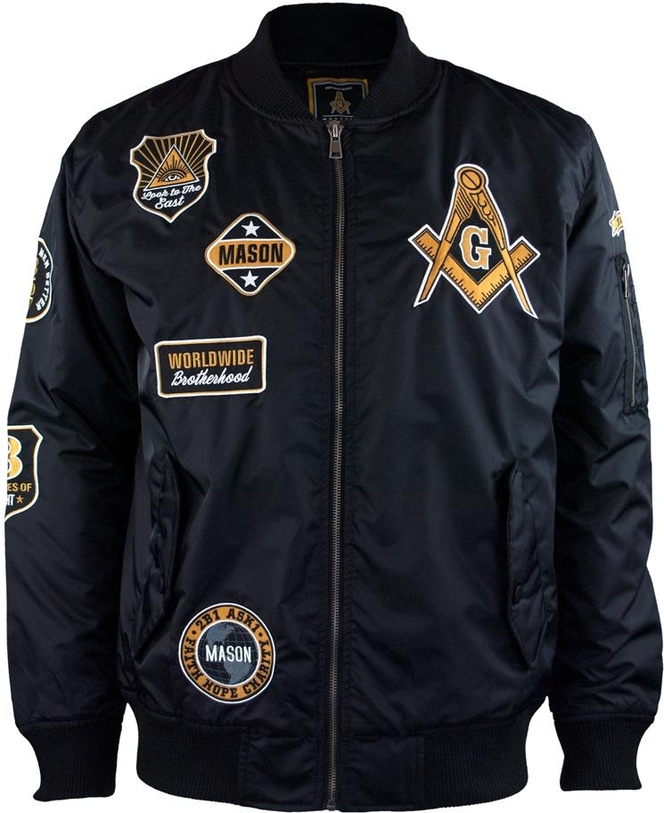 Big Boy Mason Divine Bomber Flight Mens Jacket