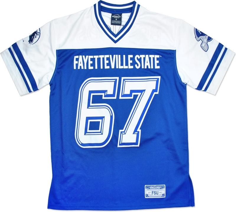 royal blue football jersey