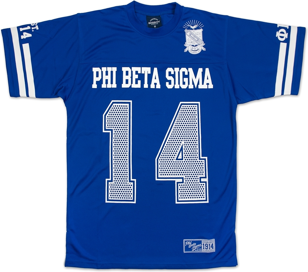 Big Boy Phi Beta Sigma Divine 9 Mens Jersey Tee