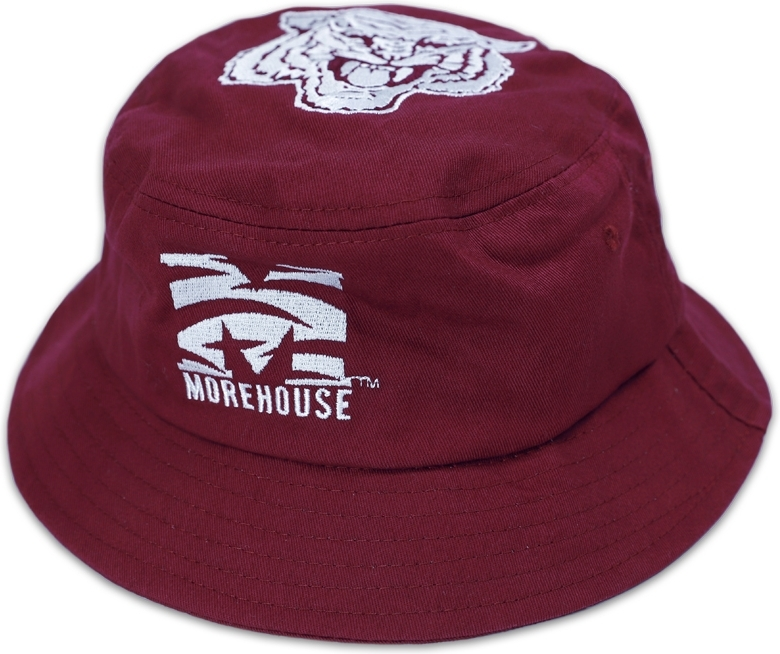 uk availability 09be1 afd32 Big Boy Morehouse Maroon Tigers S4 Mens Bucket Hat