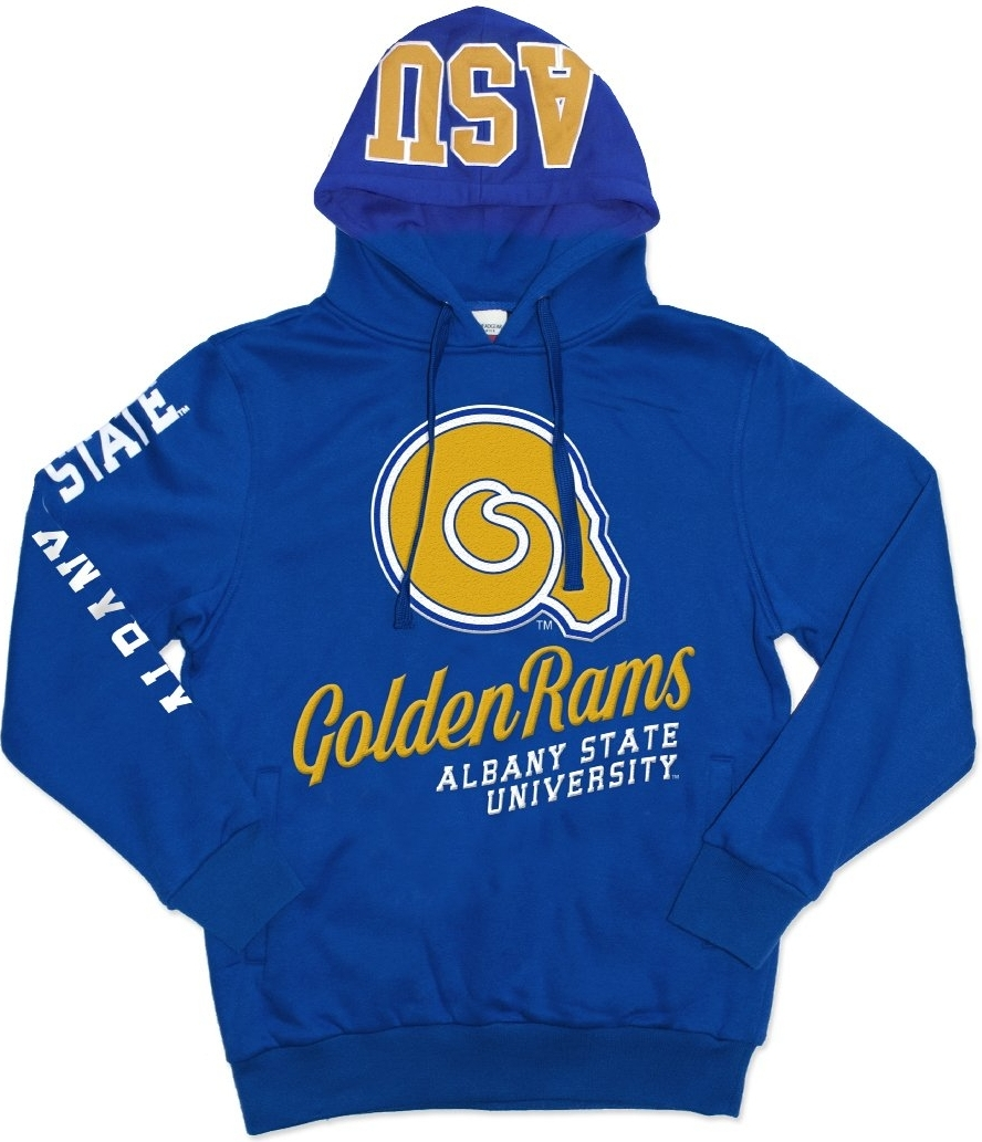 e0d724d5dc61f Big Boy Albany State Golden Rams S3 Mens Pullover Hoodie