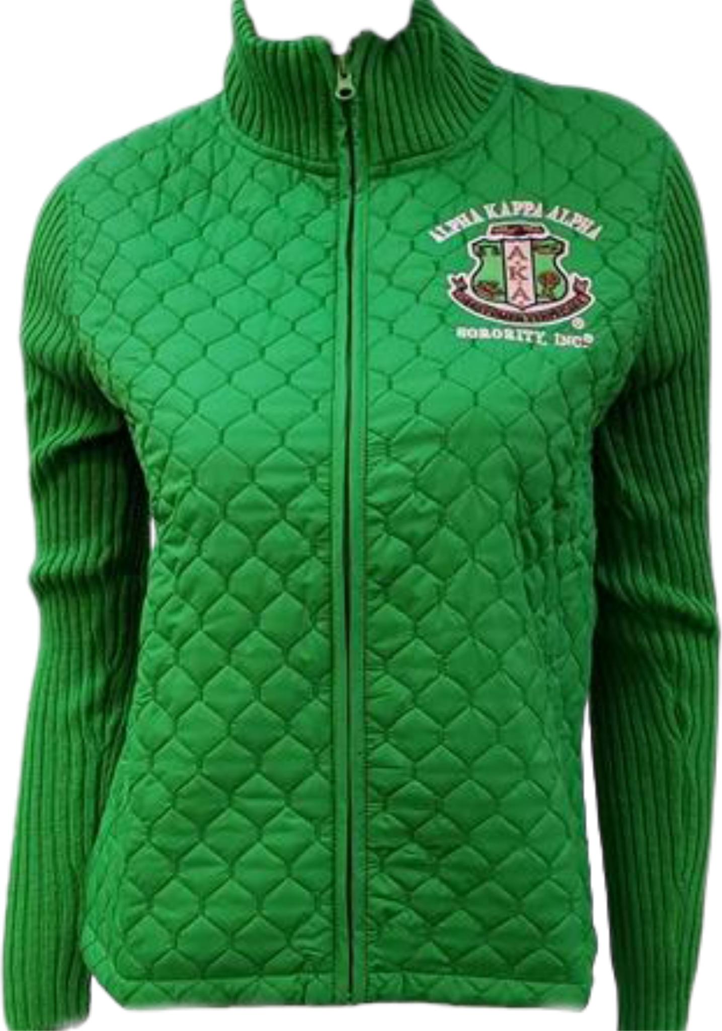3ebd04f41 Buffalo Dallas Alpha Kappa Alpha Ladies Sweater Jacket