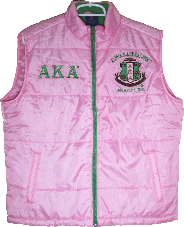 4d5f1f788 Buffalo Dallas Alpha Kappa Alpha Ladies Vest