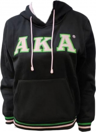67e055b130e7 Buffalo Dallas Alpha Kappa Alpha Applique Pullover Ladies Hoodie ...