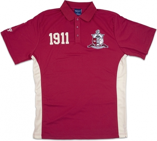 Phi Beta Sigma Men/'s Short Sleeve Polo Tee