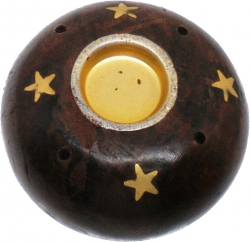 View Buying Options For The Madina Charcoal Cone & Stick Small Mouth Incense Holder [Pre-Pack]