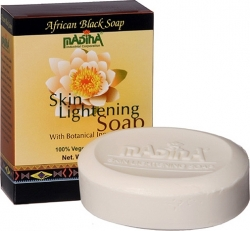 View Buying Options For The Madina Skin Lightening Botanical African Black Soap [Pre-Pack]