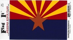 View Buying Options For The Arizona State Flag Car Decal Sticker [Pre-Pack]