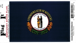 View Buying Options For The Kentucky State Flag Car Decal Sticker [Pre-Pack]