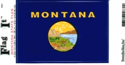 View Buying Options For The Montana State Flag Car Decal Sticker [Pre-Pack]