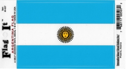 View Buying Options For The Argentina Flag Car Decal Sticker [Pre-Pack]