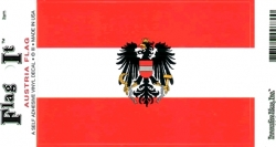 View Buying Options For The Austria with Shield Flag Car Decal Sticker [Pre-Pack]