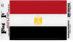 View Buying Options For The Egypt Flag Car Decal Sticker [Pre-Pack]