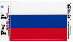 View Buying Options For The Russia Republic Flag Car Decal Sticker [Pre-Pack]