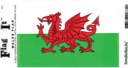 View Buying Options For The Wales Flag Car Decal Sticker [Pre-Pack]