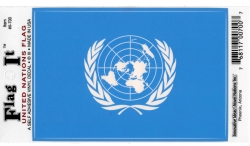 View Buying Options For The United Nations Flag Car Decal Sticker [Pre-Pack]