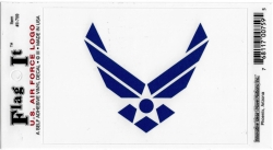View Buying Options For The U.S. Air Force Wings Logo Flag Car Decal Sticker [Pre-Pack]
