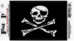 View Buying Options For The Jolly Roger Pirate Skull & Crossbones Flag Car Decal Sticker [Pre-Pack]