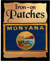View Buying Options For The Montana State Flag Iron-On Patch [Pre-Pack]