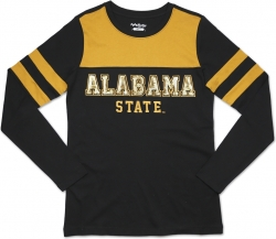 View Buying Options For The Big Boy Alabama State Hornets Ladies Long Sleeve Tee
