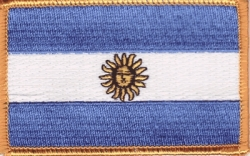 View Buying Options For The Argentina Flag Iron-On Patch [Pre-Pack]