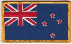 View Buying Options For The New Zealand Flag Iron-On Patch [Pre-Pack]