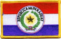 View Buying Options For The Paraguay Flag Iron-On Patch [Pre-Pack]