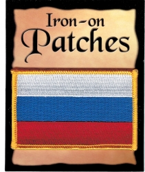 View Buying Options For The Russia Republic Flag Iron-On Patch [Pre-Pack]
