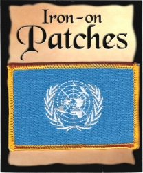 View Buying Options For The United Nations Flag Iron-On Patch [Pre-Pack]