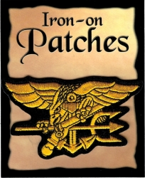 View Buying Options For The US Navy Seals Trident Cut-Out Iron-On Patch [Pre-Pack]