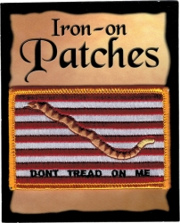 View Buying Options For The 1st Navy Jack Dont Tread On Me Flag Iron-On Patch [Pre-Pack]