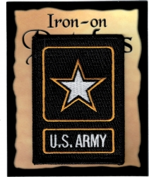 View Buying Options For The U.S. Army Strong Star Logo Flag Iron-On Patch [Pre-Pack]