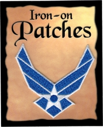 View Buying Options For The US Air Force Wings Cut-Out Iron-On Patch [Pre-Pack]