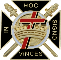 View Buying Options For The Knights Templar Symbol Cut-Out Lapel Pin