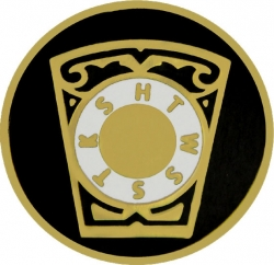 View Buying Options For The Royal Arch Mason Chapter Keystone Symbol Round Lapel Pin