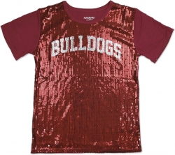 View Buying Options For The Big Boy Alabama A&M Bulldogs S3 Ladies Sequins Tee