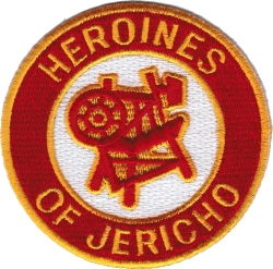 View Buying Options For The Heroines of Jericho Symbol Round Iron-On Patch