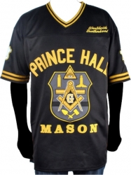View Buying Options For The Prince Hall Mason F&AM Divine Mens Football Jersey