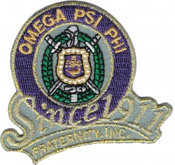 View Buying Options For The Omega Psi Phi Fraternity, Inc. Since 1911 Iron-On Patch