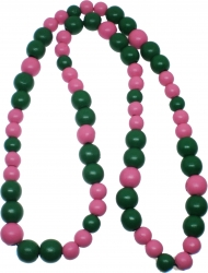 View Buying Options For The Greek Wood Color Bead Tiki Necklace