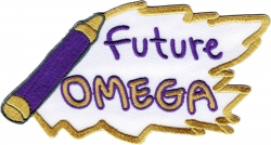 View Buying Options For The Omega Psi Phi Future Omega Iron-On Patch