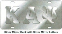 View Buying Options For The Greek Raised All Mirror License Plate