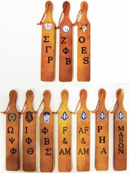 View Buying Options For The Greek Or Mason Branded Letters Traditional Paddle