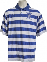 View Buying Options For The Phi Beta Sigma Rugby Style Striped Polo Mens Tee