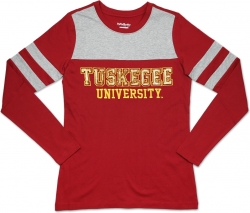 View Buying Options For The Big Boy Tuskegee Golden Tigers Ladies Long Sleeve Tee