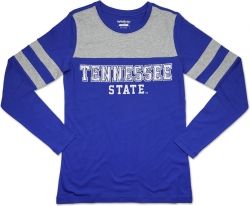 View Buying Options For The Big Boy Tennessee State Tigers Ladies Long Sleeve Tee